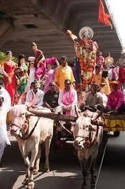 Ban on use of animals during visarjan